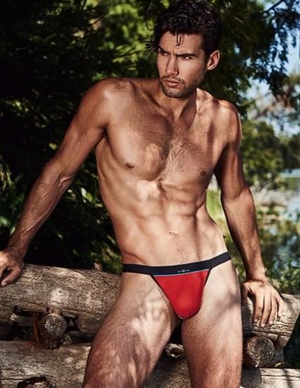 cruising swimwear red thong